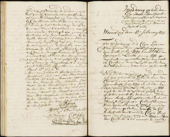 Wouw: Registers van resoluties, 1593-1811 1771