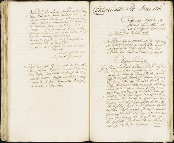Roosendaal: Registers van resoluties, 1671-1673, 1675, 1677-1795 1761
