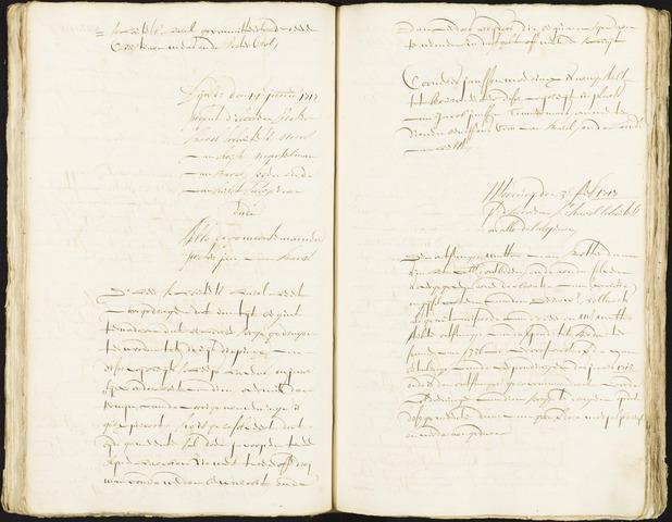 Roosendaal: Registers van resoluties, 1671-1673, 1675, 1677-1795 1717