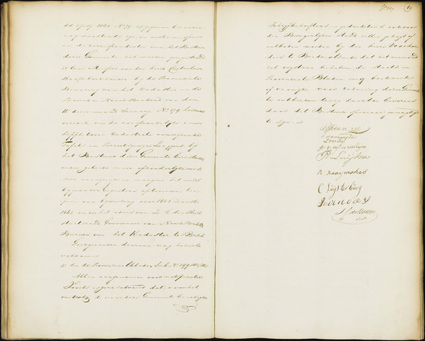 Wouw: Notulen gemeenteraad, 1813-1996 1841