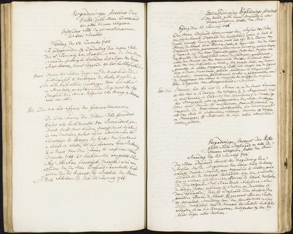 Roosendaal: Registers van resoluties, 1671-1673, 1675, 1677-1795 1786