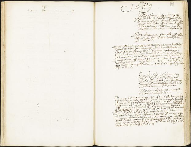Roosendaal: Registers van resoluties, 1671-1673, 1675, 1677-1795 1689