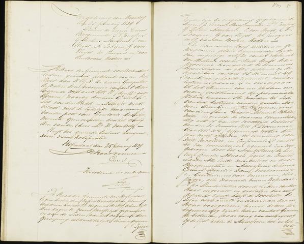 Roosendaal: Notulen, 1830-1851 1839