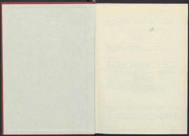 Bergen op Zoom: Notulen gemeenteraad, 1926-1996 1977-01-01