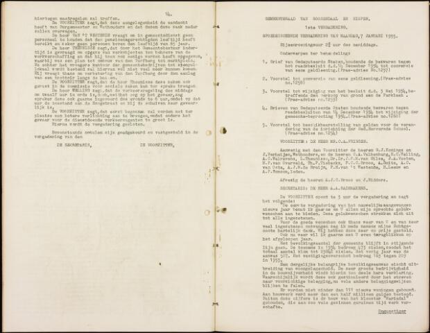 Roosendaal: Notulen gemeenteraad, 1916-1999 1935
