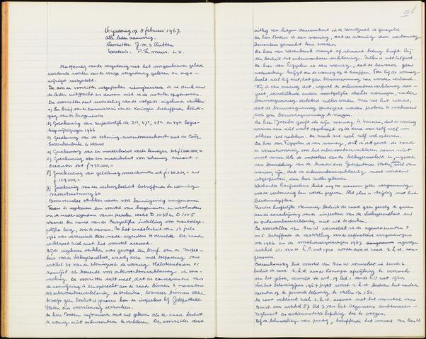 Wouw: Notulen gemeenteraad, 1813-1996 1967