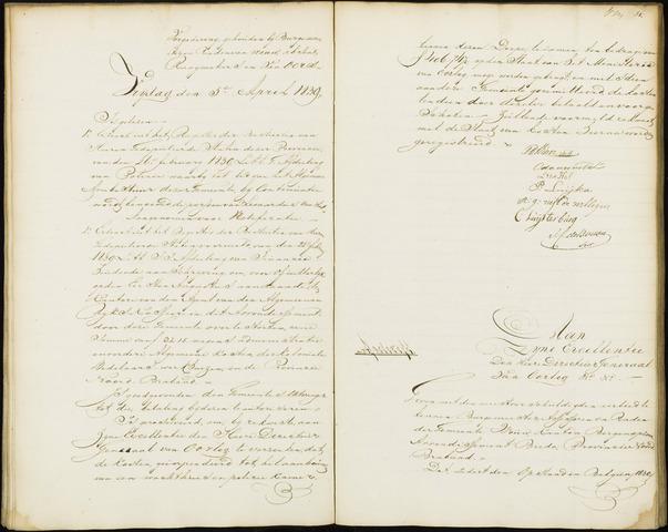 Wouw: Notulen gemeenteraad, 1813-1996 1839