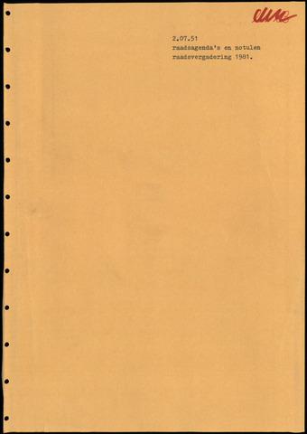 Putte: Notulen gemeenteraad, 1928-1996 1981-01-01