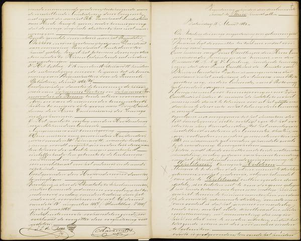 Wouw: Notulen gemeenteraad, 1813-1996 1863
