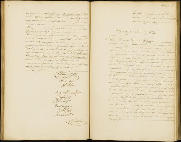 Wouw: Notulen gemeenteraad, 1813-1996 1847