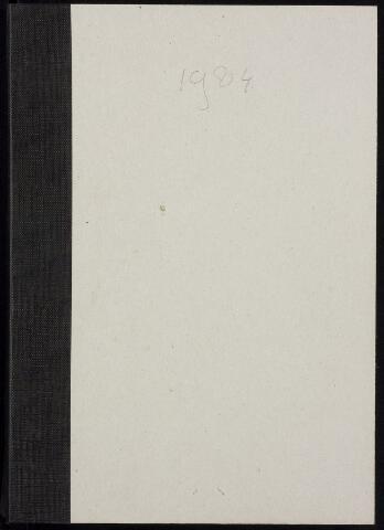 Roosendaal: Notulen gemeenteraad, 1916-1999 1984