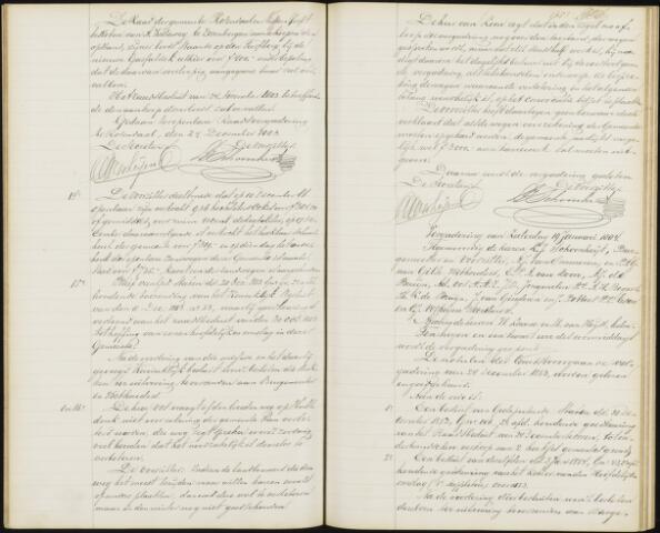Roosendaal: Notulen gemeenteraad, 1851-1917 1884