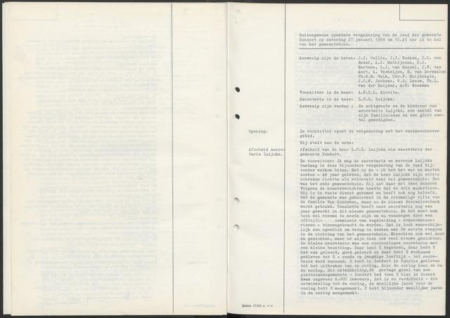 Zundert: Notulen gemeenteraad, 1934-1988 1968-01-01