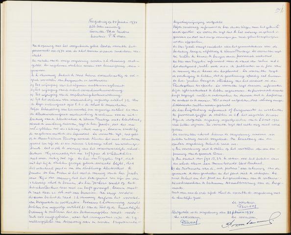 Wouw: Notulen gemeenteraad, 1813-1996 1974