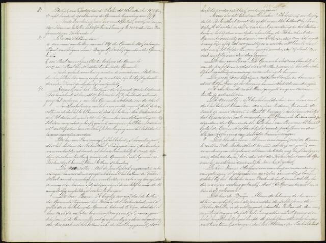 Roosendaal: Notulen gemeenteraad, 1851-1917 1879