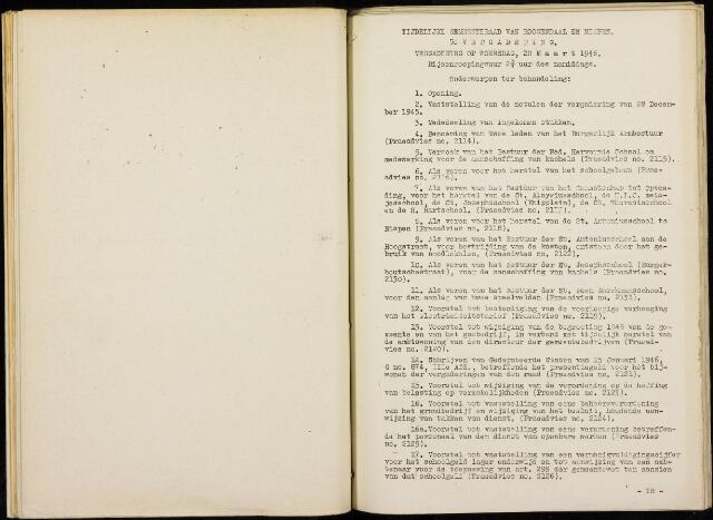 Roosendaal: Notulen gemeenteraad, 1916-1999 1946