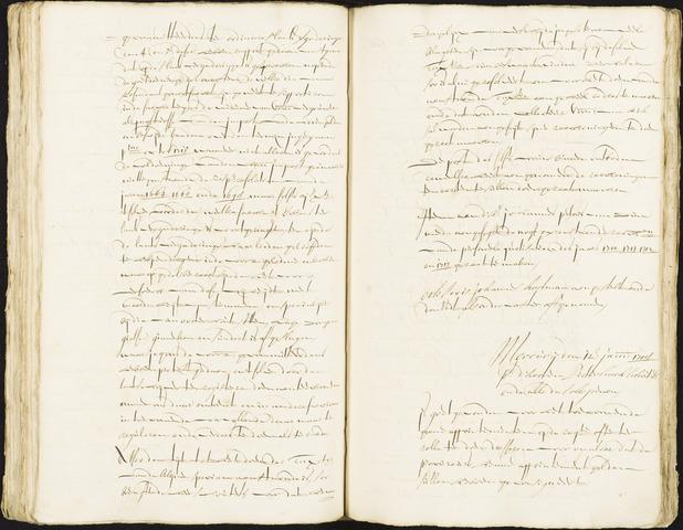 Roosendaal: Registers van resoluties, 1671-1673, 1675, 1677-1795 1718
