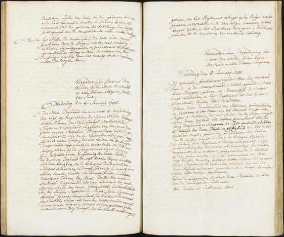 Roosendaal: Registers van resoluties, 1671-1673, 1675, 1677-1795 1785