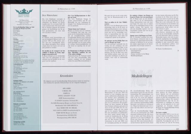 De Waterschans 1999-12-01