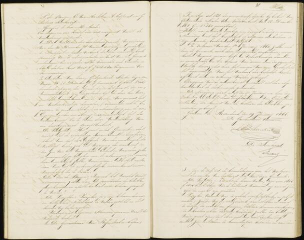 Roosendaal: Notulen gemeenteraad, 1851-1917 1866