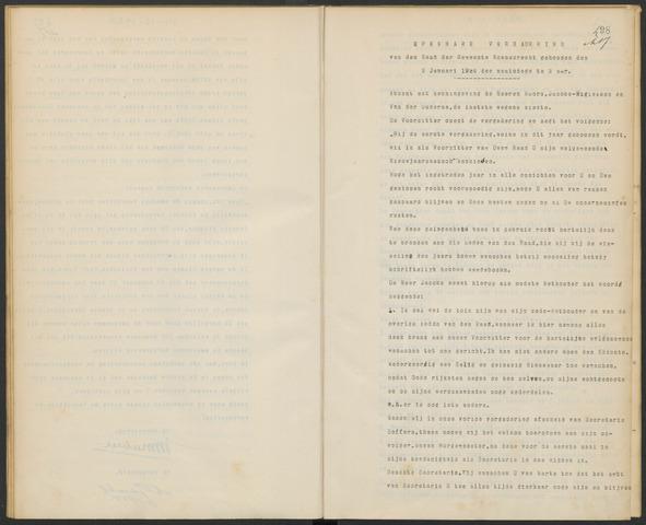 Woensdrecht: Notulen gemeenteraad, 1922-1996 1924-01-01