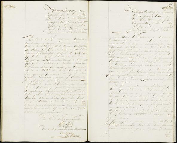 Roosendaal: Notulen 1814-1851 1830