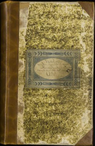 Roosendaal: Notulen gemeenteraad, 1851-1917 1860