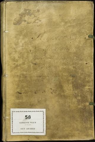 Wouw: Registers van resoluties, 1593-1811 1786