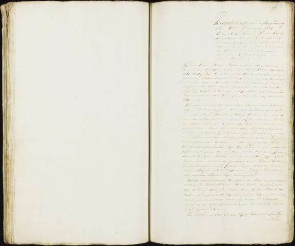 Roosendaal: Notulen 1814-1851 1821