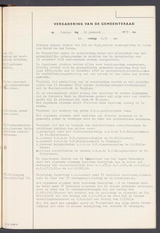 Rucphen: Notulen gemeenteraad, dec. 1949-1998 1959-01-01