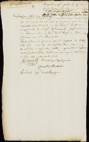 Wouw: Minuten van resoluties, 1710-1729 1719