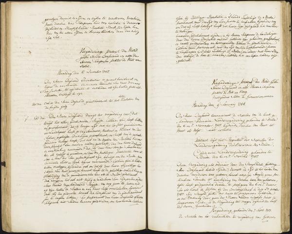 Roosendaal: Registers van resoluties, 1671-1673, 1675, 1677-1795 1788