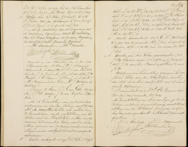Roosendaal: Notulen gemeenteraad (besloten), 1851-1916 1890