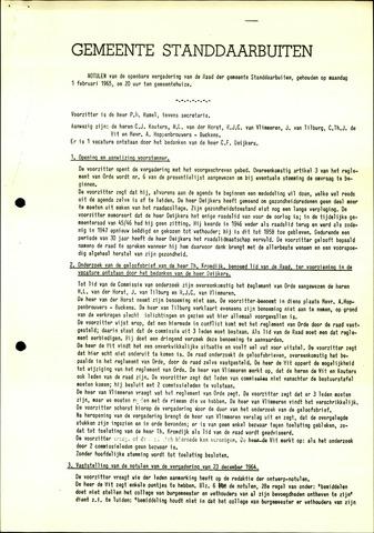 Standdaarbuiten: Notulen gemeenteraad, 1937-1996 1965-01-01