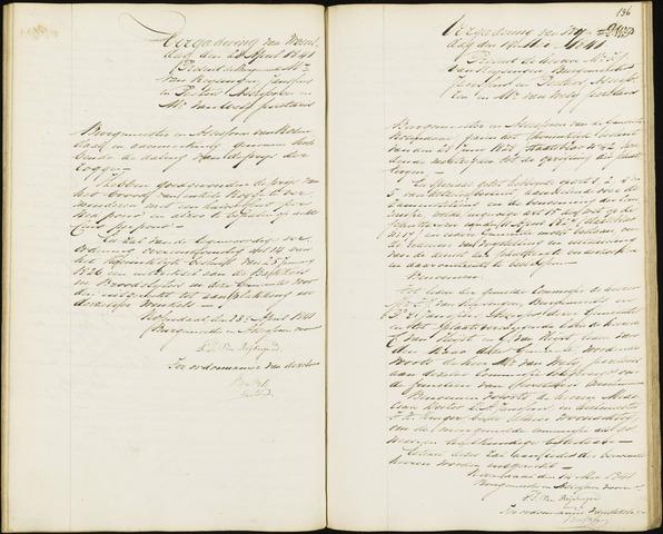 Roosendaal: Notulen van burgemeester en assessoren, 1827-1851 1841