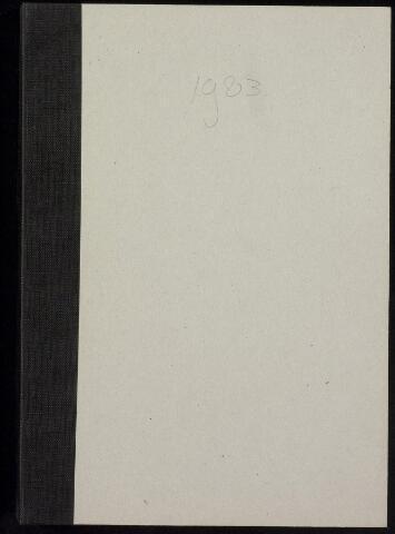 Roosendaal: Notulen gemeenteraad, 1916-1999 1983