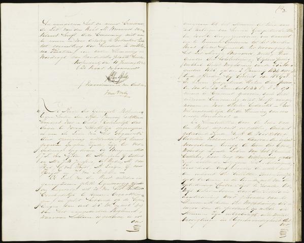 Roosendaal: Notulen, 1830-1851 1834
