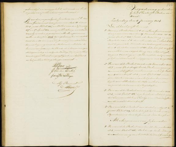Wouw: Notulen gemeenteraad, 1813-1996 1824