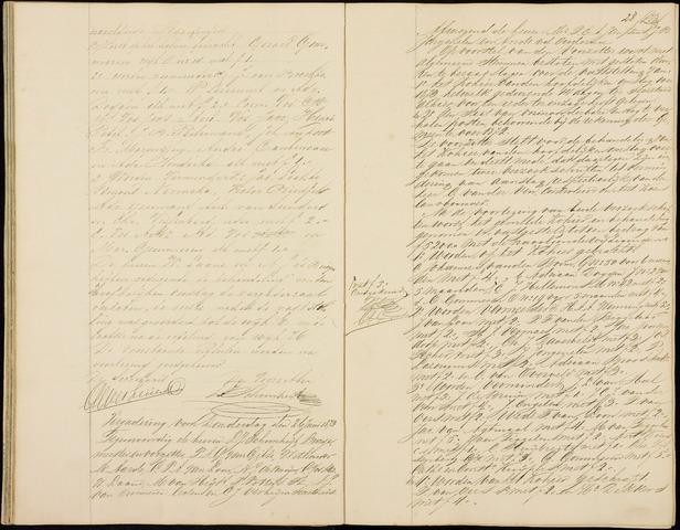 Roosendaal: Notulen gemeenteraad (besloten), 1851-1916 1873