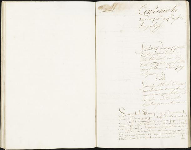 Roosendaal: Registers van resoluties, 1671-1673, 1675, 1677-1795 1698