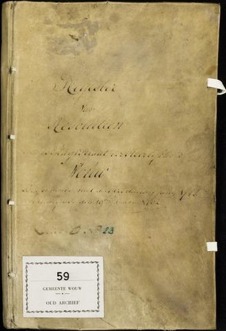 Wouw: Registers van resoluties, 1593-1811 1788