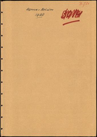Putte: Notulen gemeenteraad, 1928-1996 1988-01-01