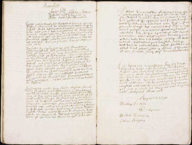 Wouw: Registers van resoluties, 1593-1811 1681