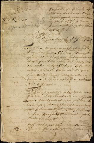 Wouw: Registers van resoluties, 1593-1811 1728