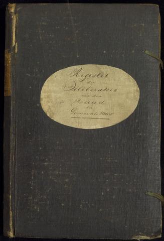 Wouw: Notulen gemeenteraad, 1813-1996 1837