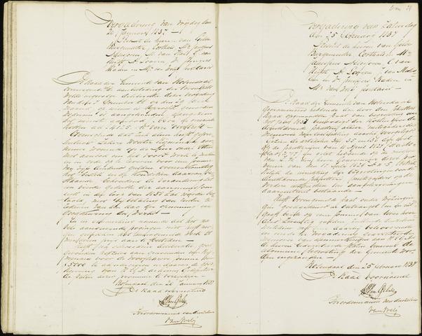 Roosendaal: Notulen, 1830-1851 1837