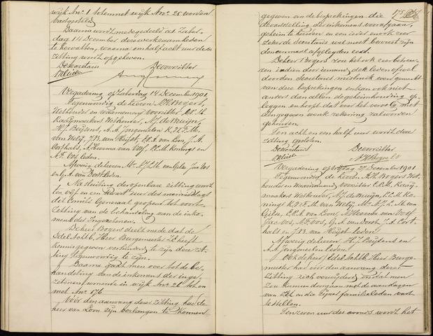 Roosendaal: Notulen gemeenteraad (besloten), 1851-1916 1902