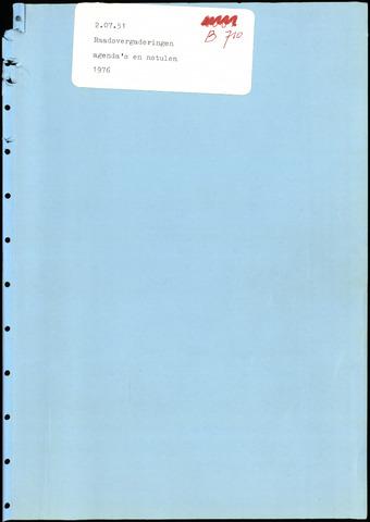 Putte: Notulen gemeenteraad, 1928-1996 1976-01-01