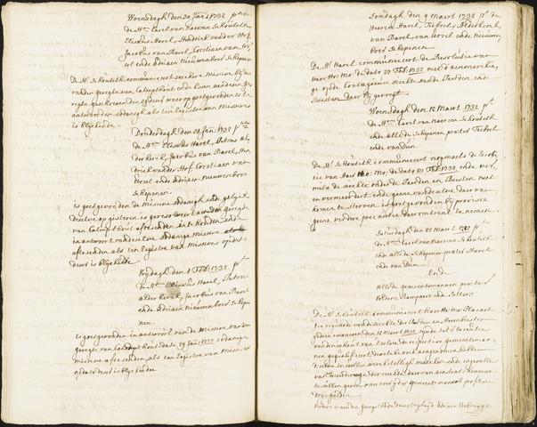 Roosendaal: Registers van resoluties, 1671-1673, 1675, 1677-1795 1732