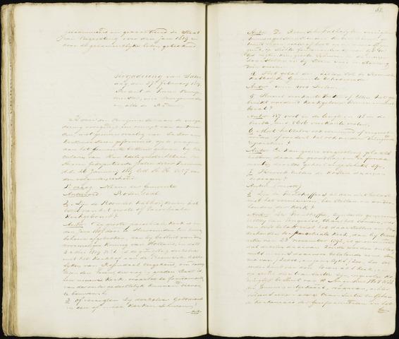 Roosendaal: Notulen 1814-1851 1819